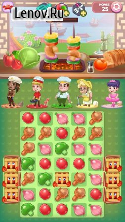Fantastic Chefs: Match 'n Cook v 1.2 (Mod Money)