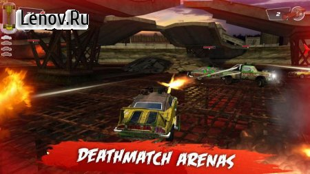 Death Tour - Racing Action Game v 1.0.37 Мод (Unlimited money/nut)