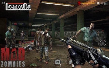 MAD ZOMBIES : Offline Zombie Games v 5.17.0 Мод (Unlimited Gold Coin/Banknote/Grenade/First Aid Kit)