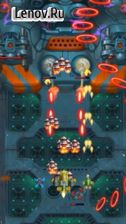 HAWK – Force of an Arcade Shooter. Shoot 'em up! v 18.1.12109 Мод (X2 GOLD)