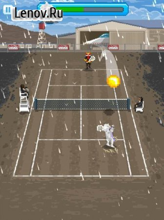 Super One Tap Tennis v 1.0.0 Мод (Unlocked)