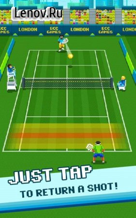 Super One Tap Tennis v 1.0.0 Мод (Unlocked)