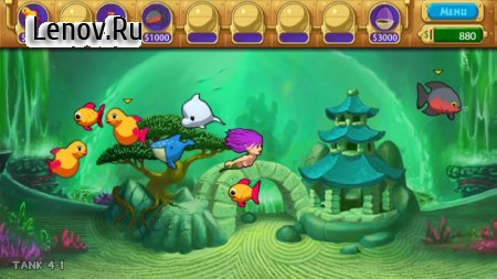 InseAqurium Deluxe - Feed Fishes! Fight Aliens! v 3.9.1 Мод (полная версия)