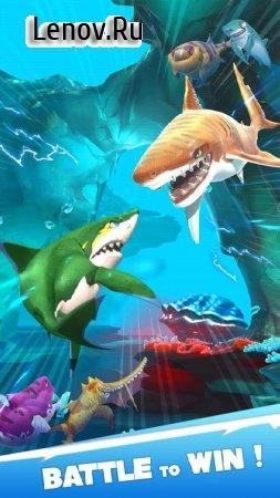 Hungry Shark Heroes v 3.3 Мод (много денег)