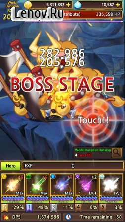 Sword Knights : Idle RPG (Premium) v 1.0.73 Мод (Unlimited Gold/Magic Stones/Experience)