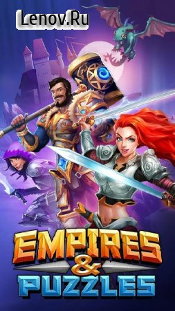 Empires & Puzzles: RPG Quest v 33.0.0 Mod (GOD MOD)