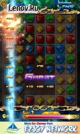 Jewels Dash v 1.2.9 (Mod Money)