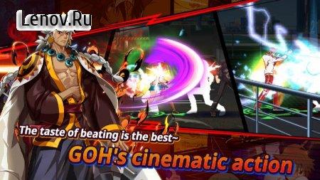 G.O.H - The God of Highschool v 1.6.1 Mod (One hit/God mode)