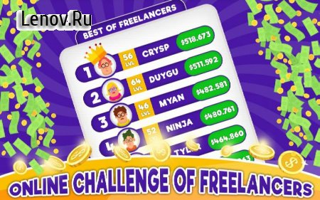 Freelancer Simulator Inc : Game Dev Money Clicker v 1.12 (Mod Money)