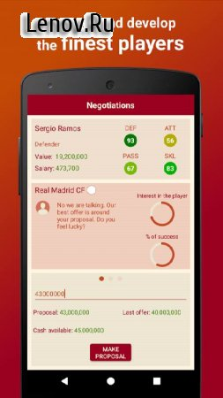 Be the Manager 2018 - Football Strategy v 2.2.3 (Mod Money)