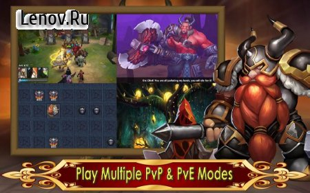 Hero Legion Online - 3D Tactical Action MMO RPG v 1.0.15 (X 50 DMG/GOD MODE)