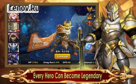 Hero Legion Online - 3D Tactical Action MMO RPG v 1.0.12 (X 50 DMG/GOD MODE)