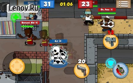 Prison Brawl v 2.0.5 (Mod Money)