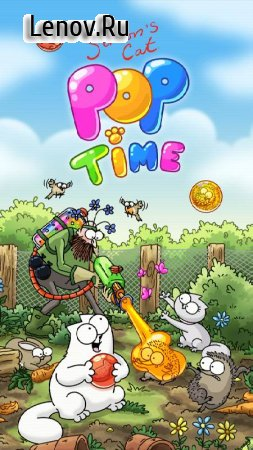 Simon's Cat - Pop Time v 1.26.0 (Unlimited Lives/Coins/Moves/Ads Free)