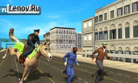 Police Horse Crime City Chase v 1.6 Мод (Unlocked)