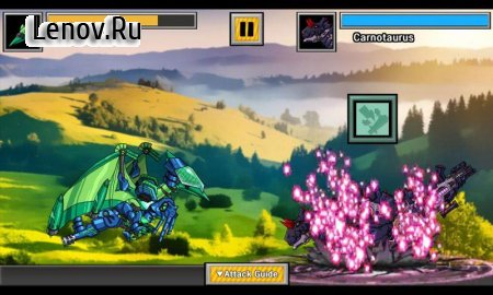 Dino Robot Battle Arena : Dinosaur game v 1.8.2 (Mod Money)
