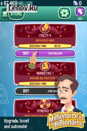 Millionaire Billionaire Tycoon 💰 - Clicker Game v 0.172 (Mod Money)