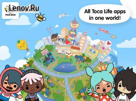 Toca Life World v 1.27 Мод (Unlocked)
