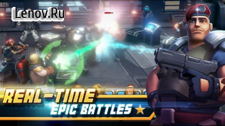 Alpha Squad 5 RPG & PvP Online Battle Arena v 1.9.51 Мод (AUTO WIN/3 STAR DUMP ENEMY)