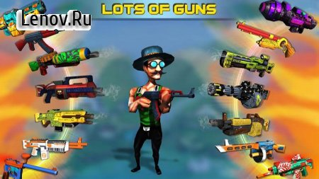 Mini Shooters: Battleground Shooting Game v 1.5 Мод (Unlimited coins/diamonds)