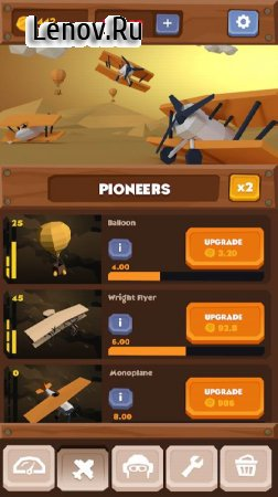 Idle Skies v 0.9 (Mod Money)