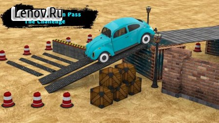 Classic Car Parking Real Driving Test v 1.2 Мод (Ads-free)