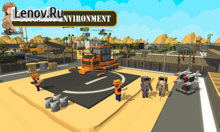 Army Base Construction : Craft Building Simulator v 1.1 Мод (All Levels Unlocked)