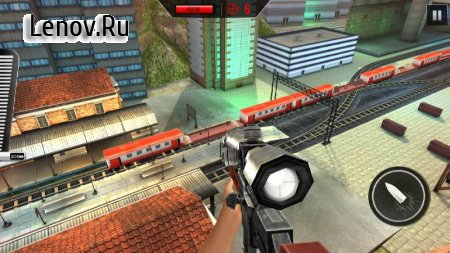 Sniper 3D : Train Shooting Game v 3.4 Мод (Free Purchase)