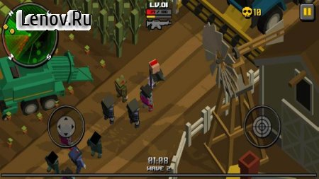 Cube Zombie Hunter v 1.0.3 Мод (Unlimited Gold/Gems)