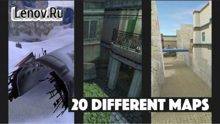 Counter vs. Terorist : 1.6 v 1.2 Мод (Infinite Bullet)