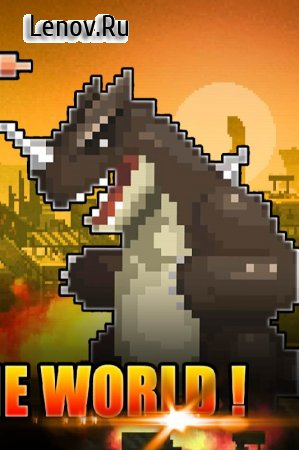 World Beast War: Destroy the World in an Idle RPG v 1.070 (Unlimited Gold/Meat/Gems)
