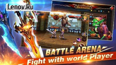 Brave Knight: Dragon Battle v 1.4.3 Мод (Free Shopping)