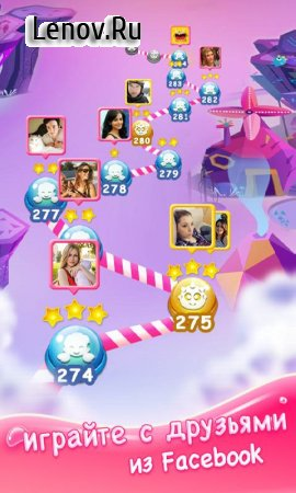 Jellipop Match v 7.4.2 Мод (Unlimited gold coins)