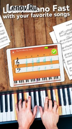 Simply Piano by JoyTunes v 5.1.11 Мод (Unlocked)