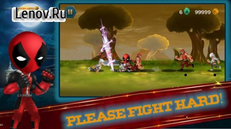 Stickman Fight : Super Hero Epic battle v 1.0.7 Мод (Unlimited Gold/Ad-Free)