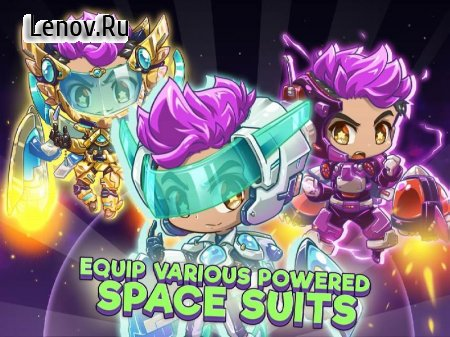 Rapstronaut : Space Journey v 0.7.7 Мод (Unlimited Coins/Revives)