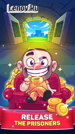 Idle Prison Tycoon: Gold Miner Clicker Game v 1.5.3 Мод (Infinite coins/bucks)