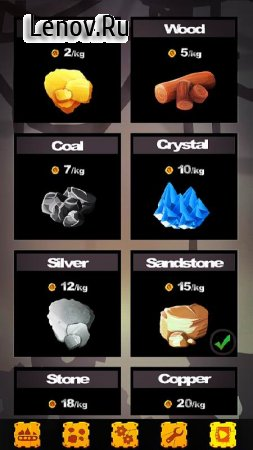 Idle Mine Crusher v 1.0.10 Мод (Increasing gold)