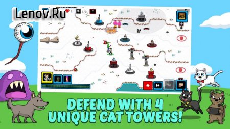 Cats & Cosplay: Badland Battle v 1.0.7 Мод (Money/Moves)