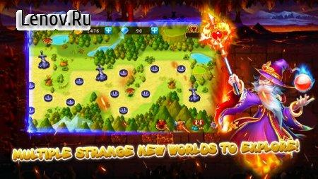 Gem Blitz: Match 3 RPG Games v 2.3 Мод (Unlimited Coins/Diamonds)