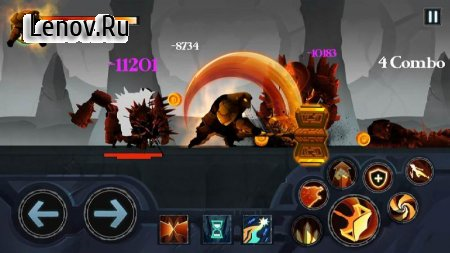 Battle of Legend: Shadow Fight v 1.2 Мод (Unlimited Coins/Gems/Energy)