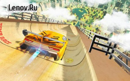 Ramp Car Stunts v 1.0.9 Мод (Free Shopping/Ads-free)