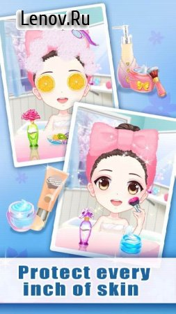 Anime Princess Makeup - Beauty in Fairytale v 1.0.3181 Мод (Infinite Gold coins)