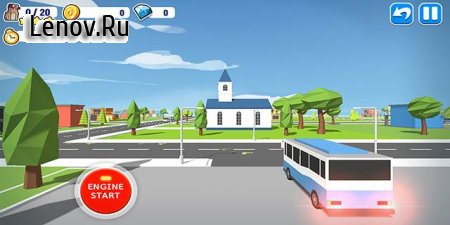 VIVA Bus(Beta) v 1.7.6 Мод (Unlimited Dia)