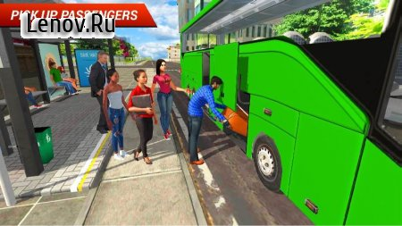 Coach Bus Driving Simulator 2018 v 4.8 Мод (Free Shopping)