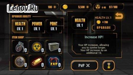 Zombie Hunter King v 1.0.13 Мод (Free Shopping)
