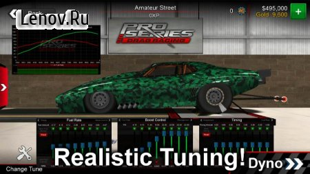 Pro Series Drag Racing v 2.20 (Mod Money)