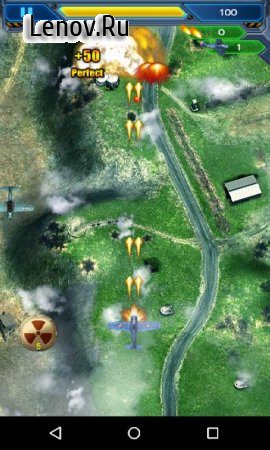 Raiden 1945 ~World War II Fighter Shooting game~ v 2.1 (Mod Money/Bombs)