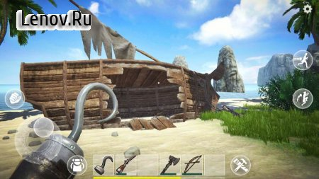 Last Pirate: Island Survival v 0.350 Мод (Free Craft)