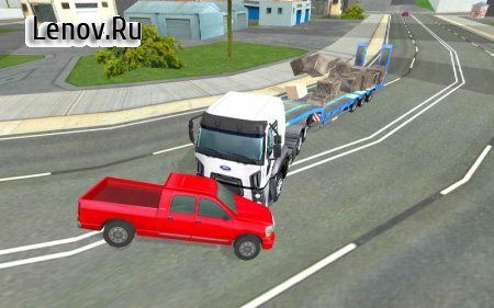 Truck Driver Simulator Pro v 1.07 (Unlimited miles/Unlocked)